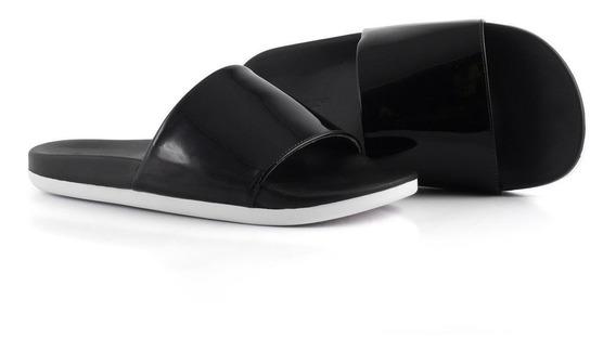 Chinelo Piccadilly Preto Calçado Sapato Lançamento Melhor