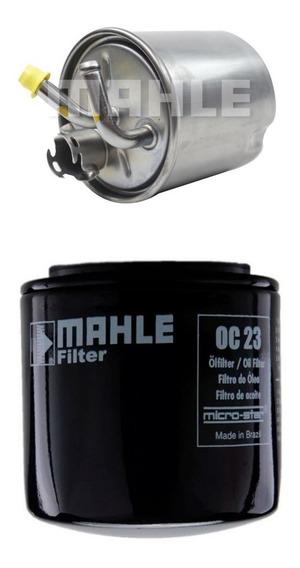 Filtro Combustível Diesel + Filtro Oleo Nova Frontier 2.5 2013 2013 2014 2015 2016 2017original Malhe