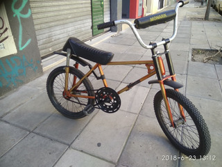 Bici Monark Rodado 20 Asiento Banana Freestyle Bicimoto
