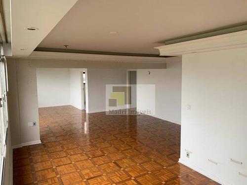 Apartamento Com 4 Dormitórios Para Alugar, 170 M² Por R$ 4.800,00/mês - Vila Romana - São Paulo/sp - Ap2165
