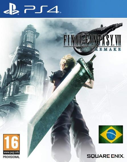 Final Fantasy Vii 7 Remake Ps4 Digital 1ª Leg Em Português