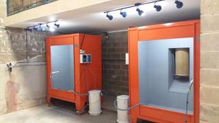 Equipamentos De Pintura Eletrostática Em Geral Estufas E Cab
