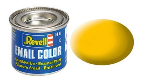 Tinta Enamel Yellow Ral 1017 Fosco 14ml Revell 32115