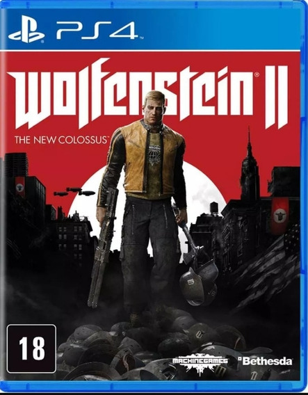 Wolfenstein Ii : The New Colossus Ps4 Mídia Física