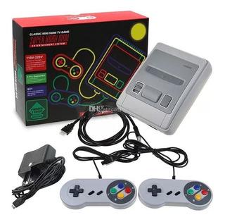 Mini Nes Consola Tv Video Game Hd 621 Juegos Incluidos Retro