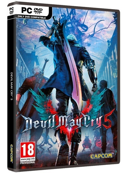 Devil May Cry 5 Deluxe Edition + 30 Dlcs Pc Dvd Frete R$8,00