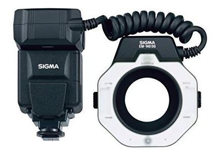Flash Macro Sigma Em - 140 Dg P/ Canon Eo - Ettl