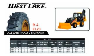 Llanta 19.5l24 (12) R4 West Lake