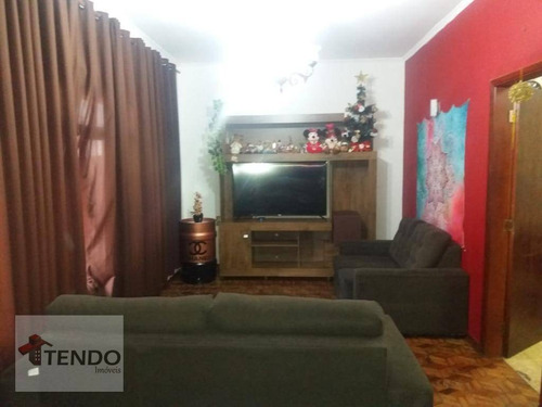 Imagem 1 de 17 de Imob01 - Casa 184 M² - Venda - 4 Dormitórios - 1 Suíte - Jardim Orlandina - São Bernardo Do Campo/sp - Ca0450
