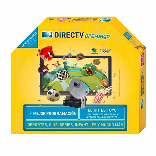 Directv Kit Prepago Antena Hd Costa Atlantica