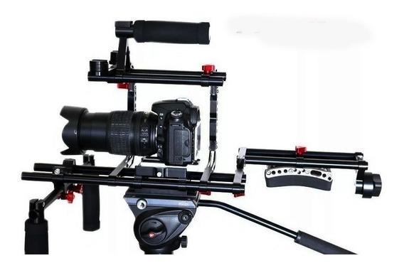 Suporte De Ombro Shoulder Rig Pro Dslr Canon Nikon Maxigrua