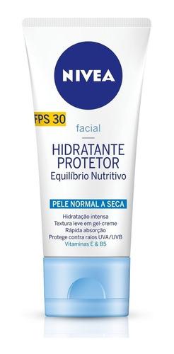 Hidratante Protetor Facial Nivea Pele Normal A Seca 50g