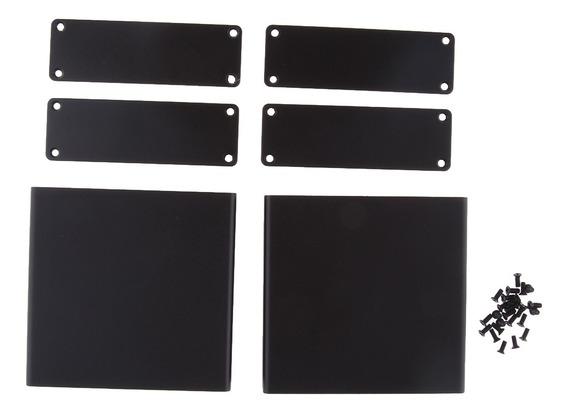 2set 82*27*79mm Gabinete De Alumínio /mini Caixa De Amplific