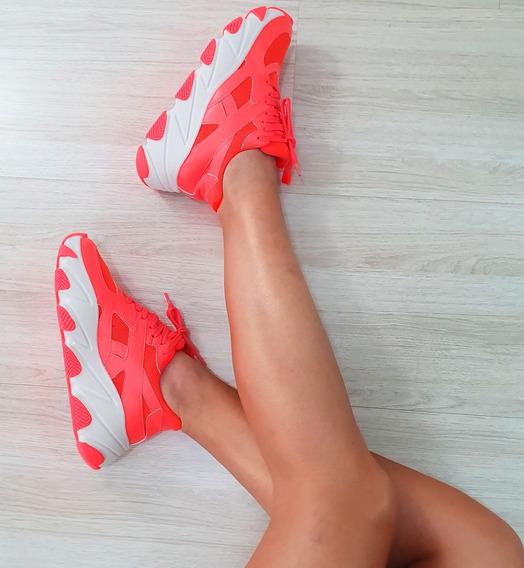Tênis Zatz Damannu Chunky Sneaker Feminino Lançamento 19/20