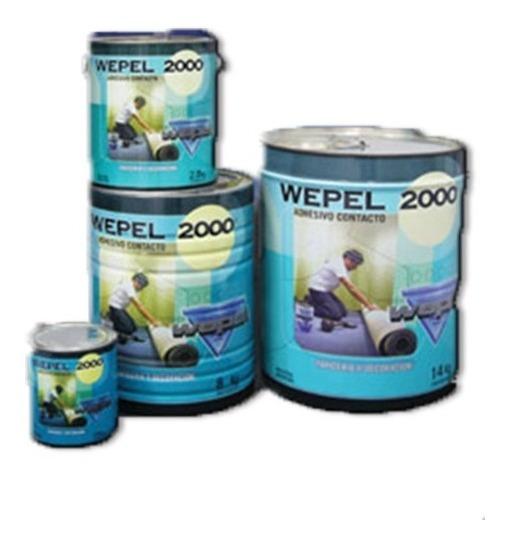 Adhesivo Doble Contacto Wepel 2000 8 Kg - 10 Litros