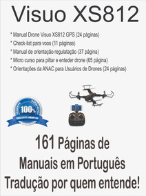 Manual Drone Visuo Xs812 -mais Completo+ Guias+ @ Via Email