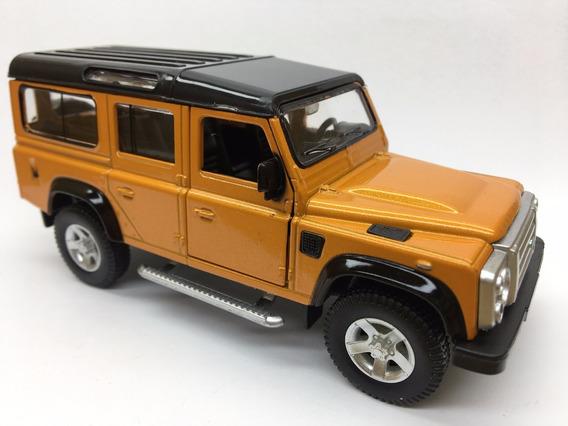 Miniatura Land Rover Defender Laranja