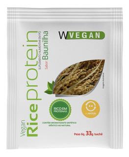 Rice Protein 33g Sache Proteina Arroz 33 Gramas Wvegan