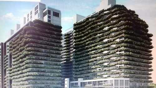 City Towers Green Rento Depto. 106 M2 Con Balcón,