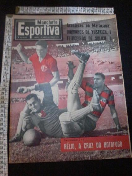 Revista Manchete Esportiva 141 1958