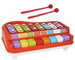 Toysery 2 En 1 Xilófono Para Piano Para Niños, Juguetes E