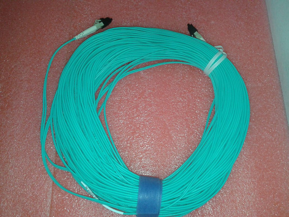 Fibra Optica Lc-pc 40,0mts Om3 Dx Multimodo 10gb Gbic