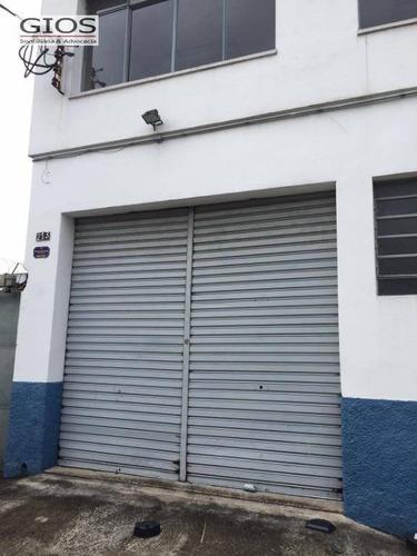 Imagem 1 de 16 de Galpão Para Alugar, 750 M² Por R$ 18.000,00/mês - Lapa - São Paulo/sp - Ga0236