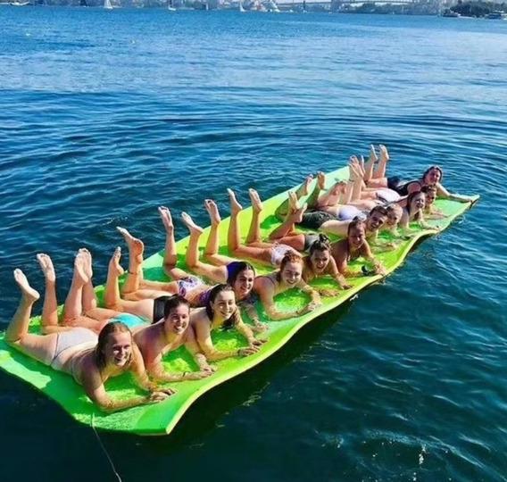 Peças Para Barcos - Tapete Flutuante Gigante 5,0m X 1,85m