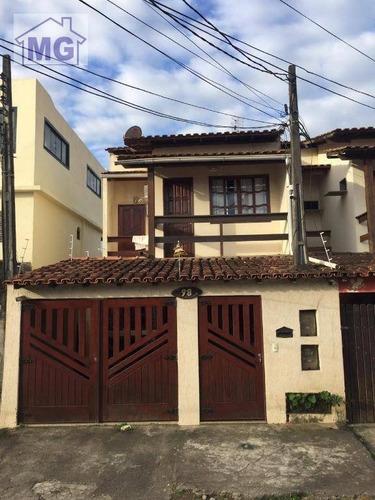 Imagem 1 de 13 de Casa Com 3 Dormitórios À Venda, 100 M² Por R$ 280.000,00 - Sol E Mar - Macaé/rj - Ca0247