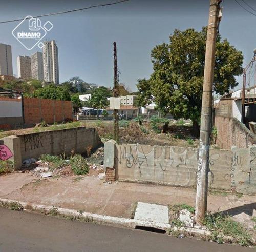 Terreno À Venda, 526 M² Vila Virgínia - Ribeirão Preto/sp - Te0482