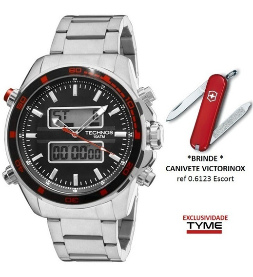 Relógio Technos Masculino Ts Digi 0527af/1p + Brinde C/ Nf