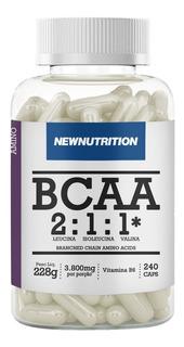 Bcaa 3800 Newnutrition 240 Cápsulas Melhor Preço!