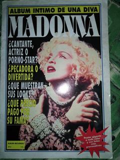 Album Intimo De Una Diva - Madonna - Fotos Poster Año 1993