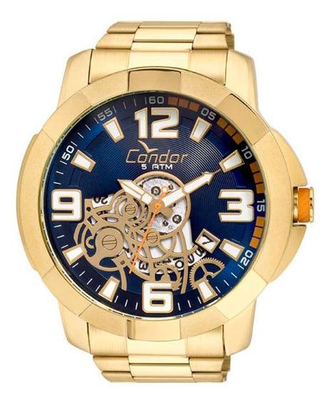 Relógio Condor Masculino Dourado Co2415bi/4a