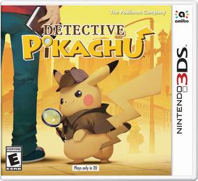 Detective Pikachu Midia Fisica - Nintendo 3ds