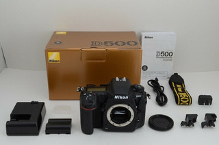 Excellent Nikon D500 20.9 Mp Digital Slr Camera Black Body
