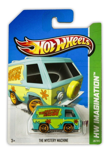 Hot Wheels Imagination Scooby Doo The Mystery Machine V5326
