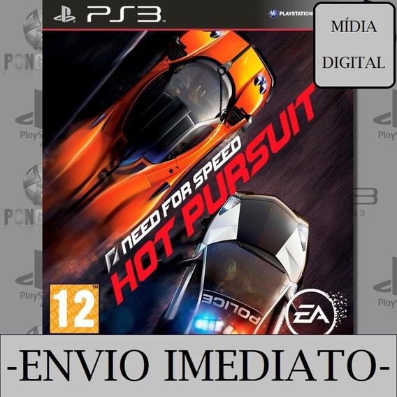 Need For Speed Hot Pursuit Ps3 Psn Mídia Digital Envio Agora