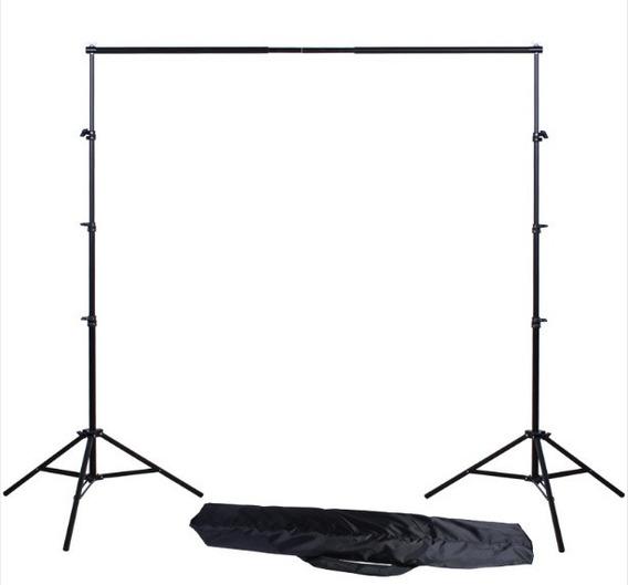 Kit Suporte De Fundo Greika 3x3 Para Fundo Fotográfico Tripe