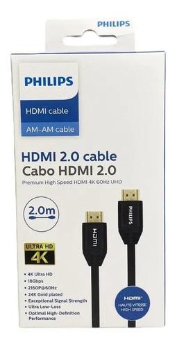 Cabo Hdmi 2.0 Ultra Hd 4k Philips