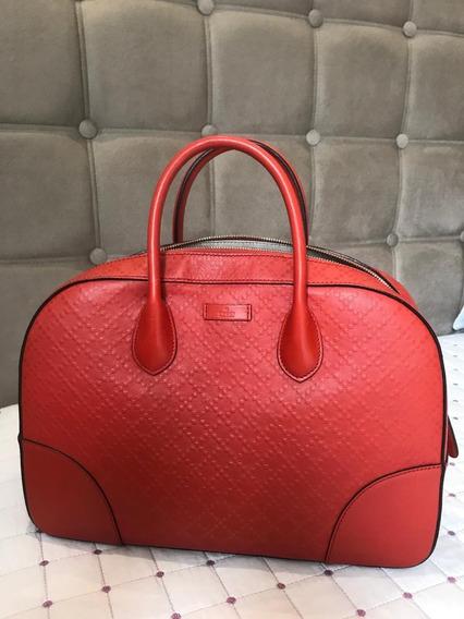 Bolsa Gucci Vermelha Original