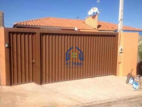 Casa Com 2 Dormitórios À Venda, 48 M² Por R$ 140.000,00 - Residencial Lago Sul - Bady Bassitt/sp - Ca2168