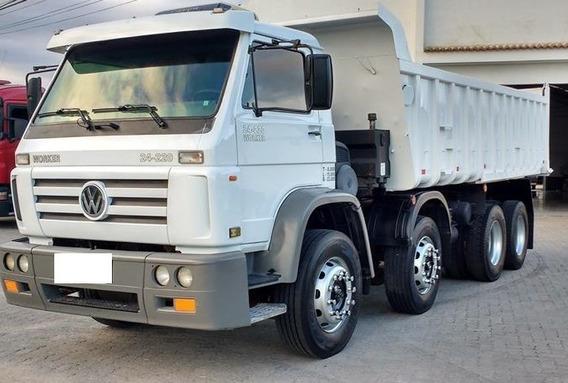 Vw 24220 8x2 Worker Caçamba 2012