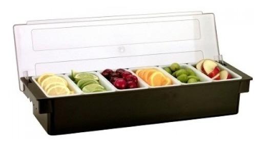 Porta Condimentos Condimentero Frutas Cocteleria Barra
