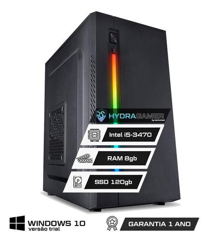 Imagem 1 de 8 de Pc Gamer Hydra | Intel Core I5 | 8gb | Ssd 120gb | Nf
