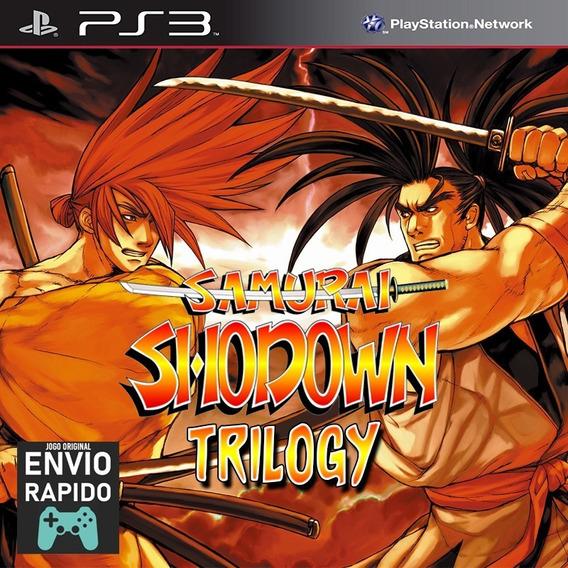 Samurai Shodown Trilogy 1 2 E 3 - Ps1 Classic - Jogos Ps3