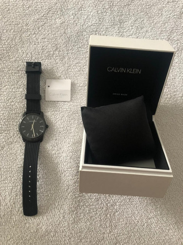 Relógio  Calvin Klein Evidence Quartz Black Dial K8r114d1