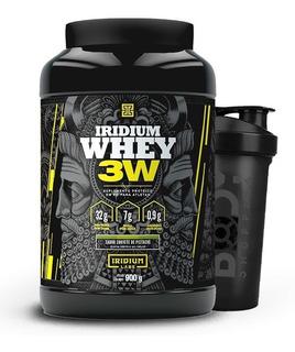 Whey Protein 3w 900g + Shaker - Iridium Labs / Sabores