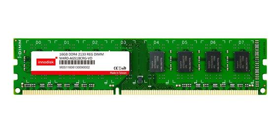 Memoria Innodisk Ddr4 16gb 2133mhz Long Dimm Reg (servidor)