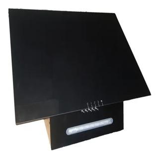 Campana Cocina Extractora Vidrio Negro Con Motor 60 X 50